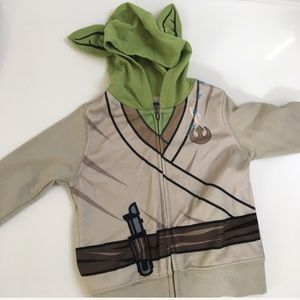 Other - Star Wars Yoda character hoodie jacket