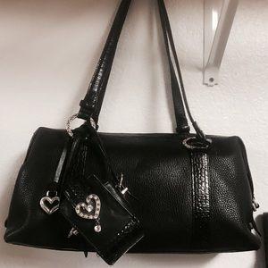 Brighton leather handbag with wallet