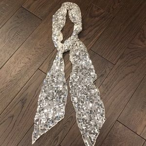 Guess sequins scarf / tie