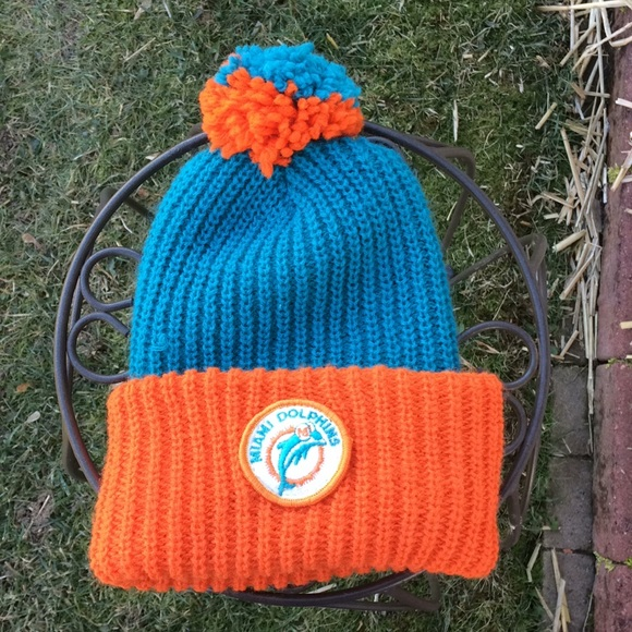 Miami Dolphins Crochet Hat Pattern 2017