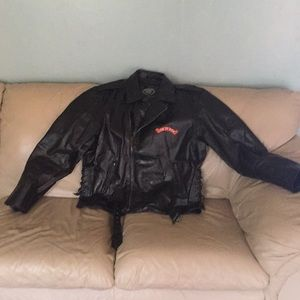 Other - Leather motorcycle jacket.