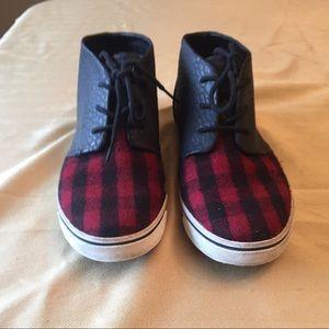 Dolce Vita Plaid Sneakers