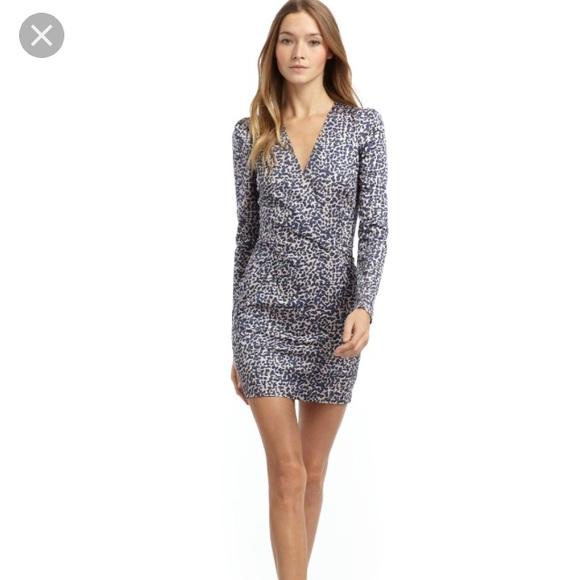 Long Sleeve Cheetah Dress