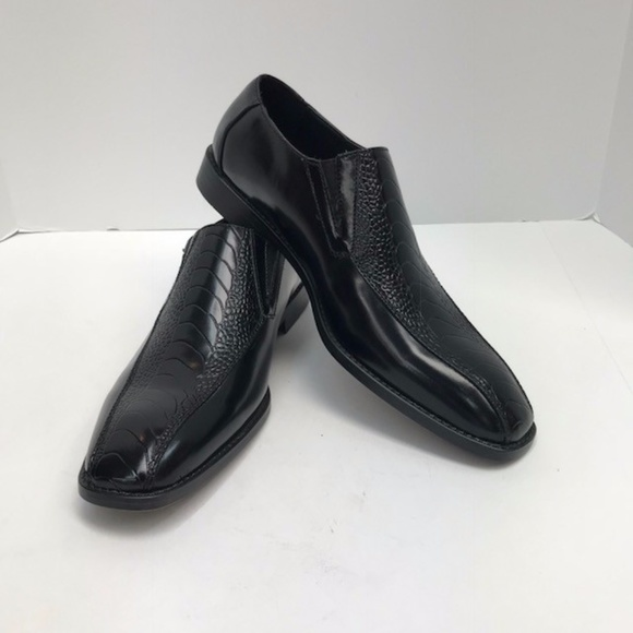 Sio Collection Shoes Mens Black Loafer Dress Sio Size 9 Poshmark