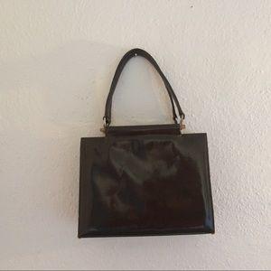 Saks Fifth Avenue leather purse