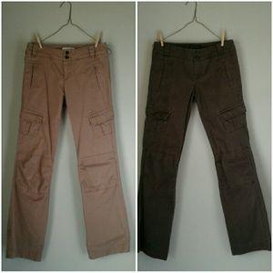 Bundle of 2 Banana Republic cargo pants