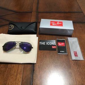 Ray Ban Sunglasses, Aviator frame