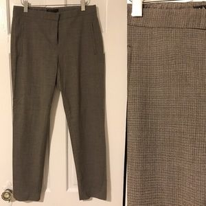 Theory cropped wool pants