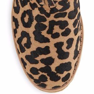 b6df644f589e kate spade Shoes - Kate Spade Betsie Too Fringed Leopard-Print Bootie