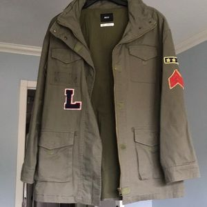 Urban outfitters military jacket