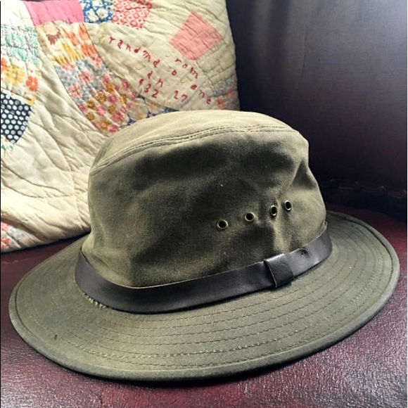 6dac7797fb53bf Filson Accessories | Shelter Tin Cloth Packer Hat Sz M Unisex | Poshmark