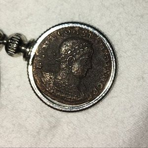 Other - real roman coin necklace