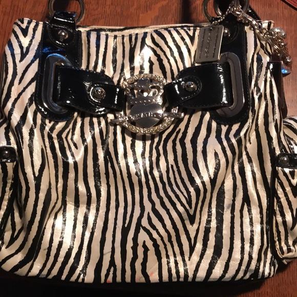 Kathy Van Zeeland Handbags - Zebra print Kathy Van Zeeland Purse 6d5c14f086998