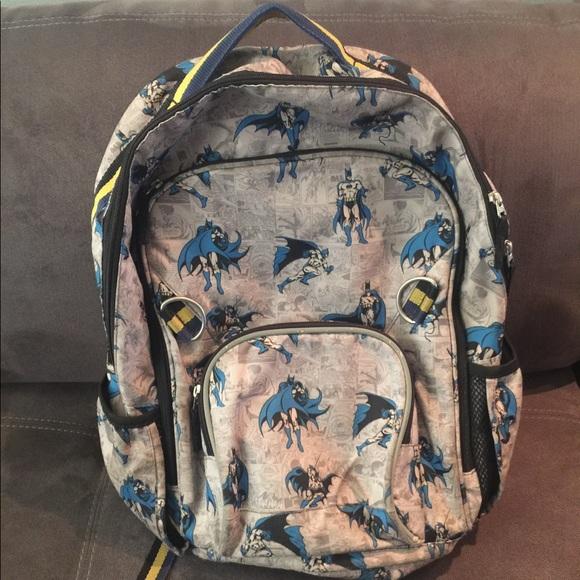 Pottery Barn Kids Large Batman Backpack. M 5a19e6dff09282908102b7c5 cb0ea84ebb