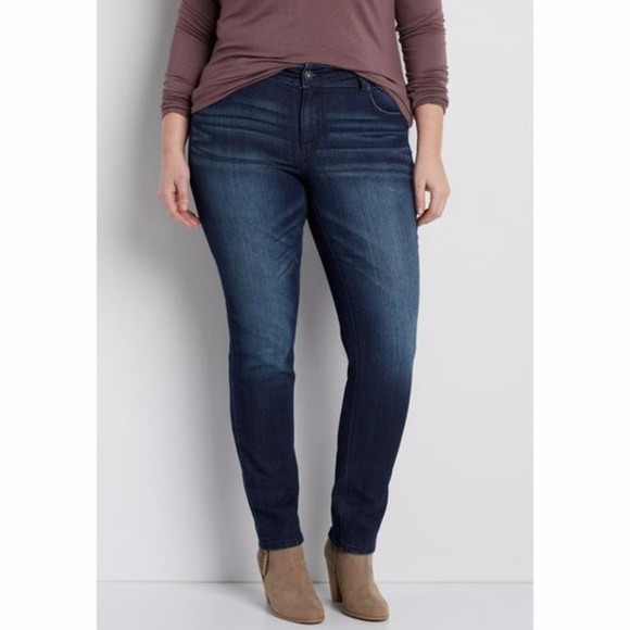 4b10f56ce53 New Plus Size Maurices Ellie dark wash Jeans 22W S