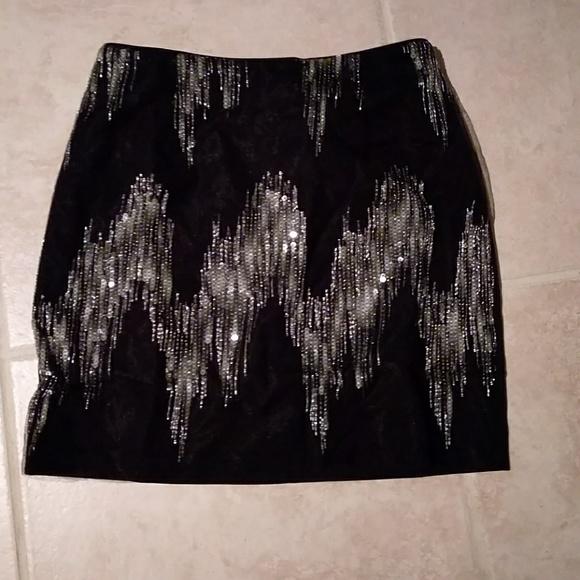 Massimo Rebecchi Dresses & Skirts - Black and grey sequin skirt