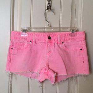 Victoria's Secret PINK Neon Pink Shorts
