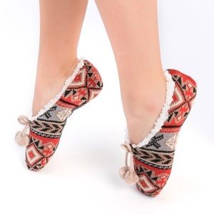 Women's Cozy Slip On Slippers Socks Comfy Gift