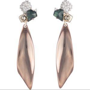 NWT Alexis Bittar Stud Dangly Earrings
