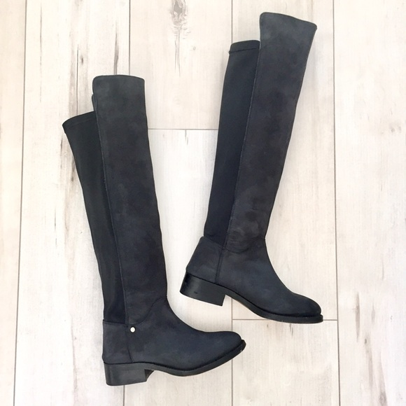 5050 Knee High Nubuck Leather Boots