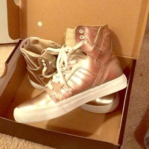 SUPRA Gold Girl High Top Sneakers