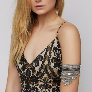 Free People Spring Dream Silver Boho armband cuff