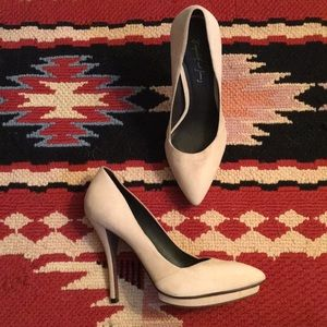 Elizabeth and James Suede Pumps
