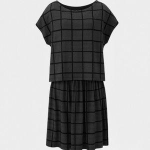 Uniqlo MoMA special edition layered dress