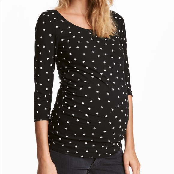3cd65edf6508 H&M Tops | Polka Dot Hm Mama Maternity Top | Poshmark