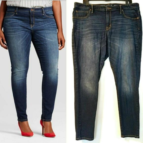 ee2816cedf4 Ava   Viv Plus Size 16 Jegging Skinny Jeans