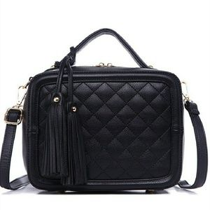 Quilted Box Satchel