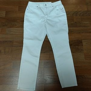 Coldwater Creek white Denim Jeans