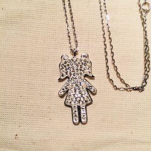 Jewelry - ❤️Swarovski Girl Necklace