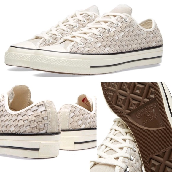 64451f965922bb Converse Chuck Taylor First String  70 OX Woven QS