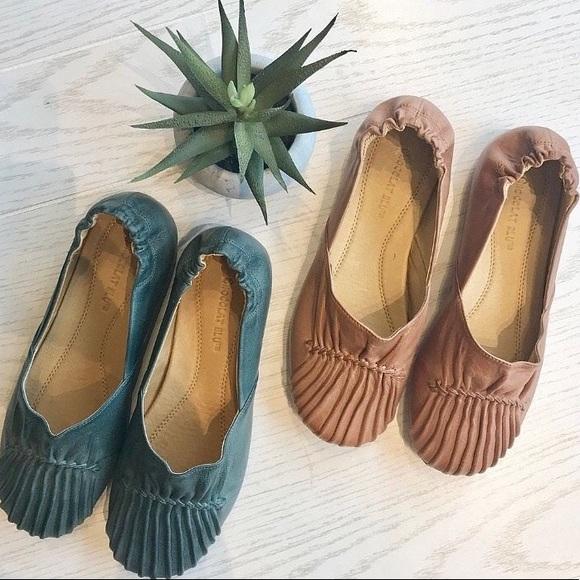 9d9d63c8a2d02 Chocolat Blu Shoes | Leather Flats Dark Brown Size 7 | Poshmark