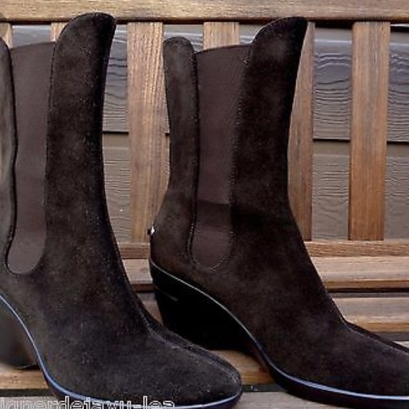 Cole Haan Nike Air Ankle Boots Womens