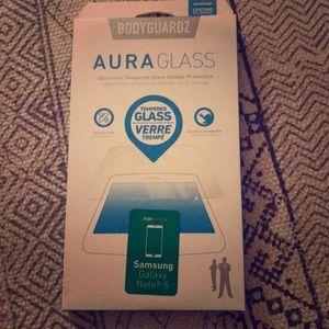 Bodyguardz tempered Glass for Note 5