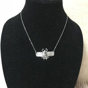Jewelry - Beatle Silver Necklace