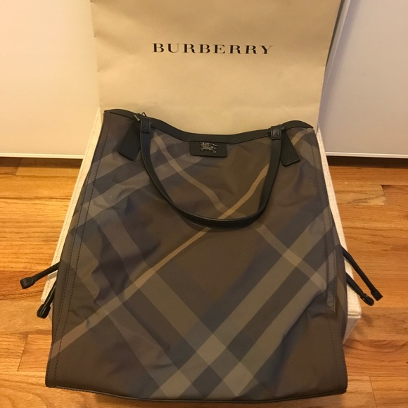 Burberry Handbags - Burberry Buckleigh Nylon Tote. 96e45d0584529