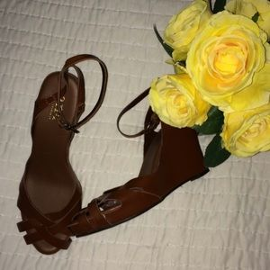 Brown a.n.a Wedges...Only worn once