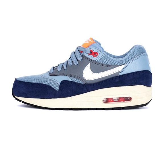 Nike Air Max 1 Essential BlueGray Running Shoes