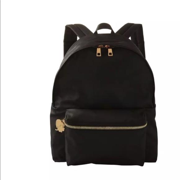 25f6a947c7f Stoney Clover And Lane black nylon backpack. M 5a1a11b9ea3f36a3b80399b2