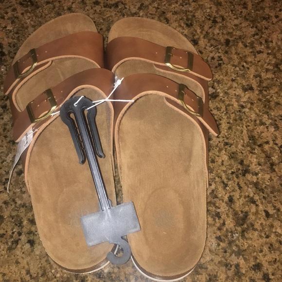 54a07b764090fb Rock Republic men s brown Cognac sandals XL (12 13