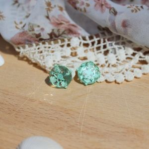 You Know Teal Lace Earrings