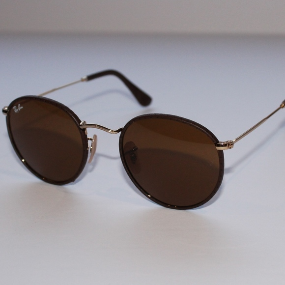 66fe74bb1f Ray-Ban ROUND CRAFT Brown Classic