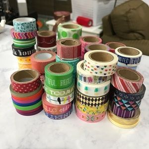 Other - 75+ rolls of washi tape