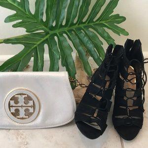 Jessica Simpson lace-up cage sandal