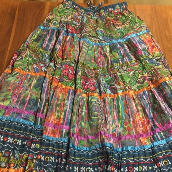 5db82fa017 TravelSmith Skirts   Crinkle Fiesta Skirt   Poshmark