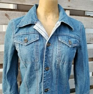 DKNY denim jean jacket