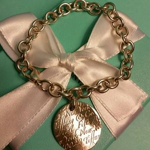 Tiffany & Co. Retired Notes Charm Bracelet